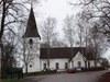 Ekebyborna kyrka sedd från söder.