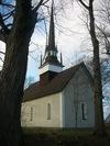 Brunneby kyrka från SÖ