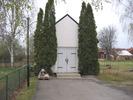 Ånge kyrkas kyrkogård, Gravkapellet, vy från öster.