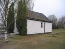 Ånge kyrkas kyrkogård, Gravkapellet, vy från nordöst.