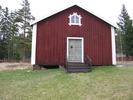 Berghamns kapell, exteriör, södra fasaden.