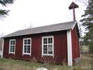 Berghamns kapell, exteriör, östra fasaden.
