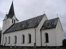 Dals kyrka, exteriör, södra samt östra fasaden.