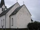 Dals kyrka, exteriör, östra fasaden.
