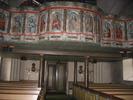 Dals kyrka, interiör, kyrkorummet, vy mot läktaren.