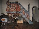 Dals kyrka, interiör, kyrkorummet, predikstolen.