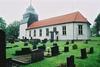 Ljushults kyrka sedd från SÖ.