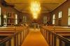 Långhuset i Ljushults kyrka sett mot koret, från V.
