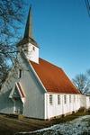 Trogareds kapell, uppfört 1918 av byggmästarna Albin och Carl Wilhelm Gustafsson. Neg.nr. B963_012:23. JPG.