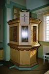 Predikstol i Trogareds kapell. Neg.nr. B963_012:14. JPG.